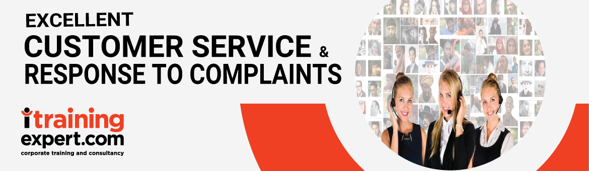 customer service course | Sample responses to complaints