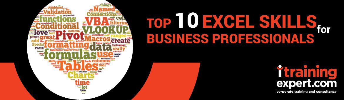 Top 10 Excel Skills for Business Professionals