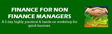 Finance for Non Finance Managers training